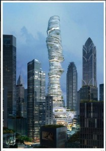 Hazy Tower